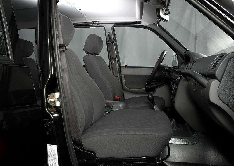 Вид на пассажирское сиденье