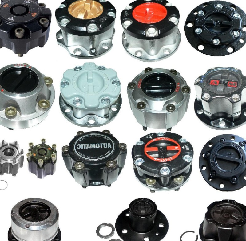 Разнообразие муфт отключения ступиц колес