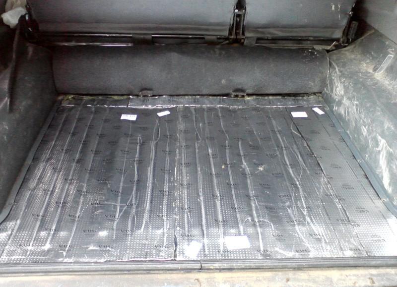 Шумка багажного отделения