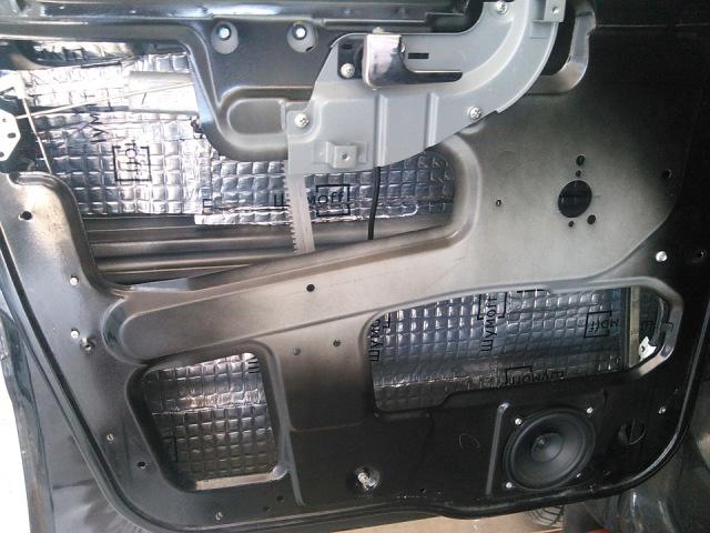 Оклейка наружней поверхности двери