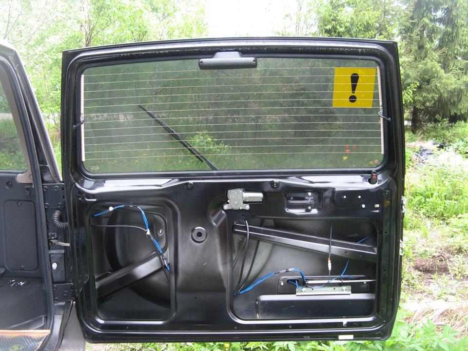 Дверь багажника Патриота
