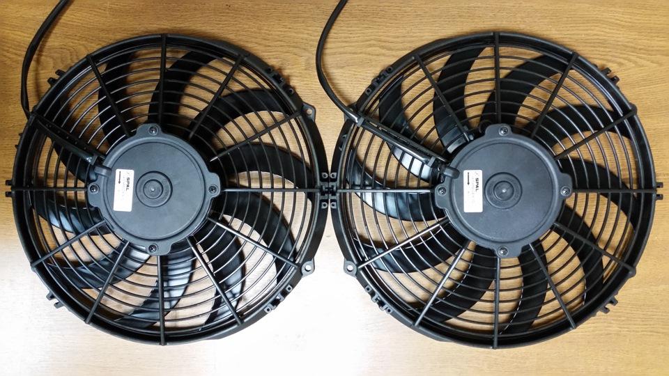 Вентиляторы для замены на Патриоте