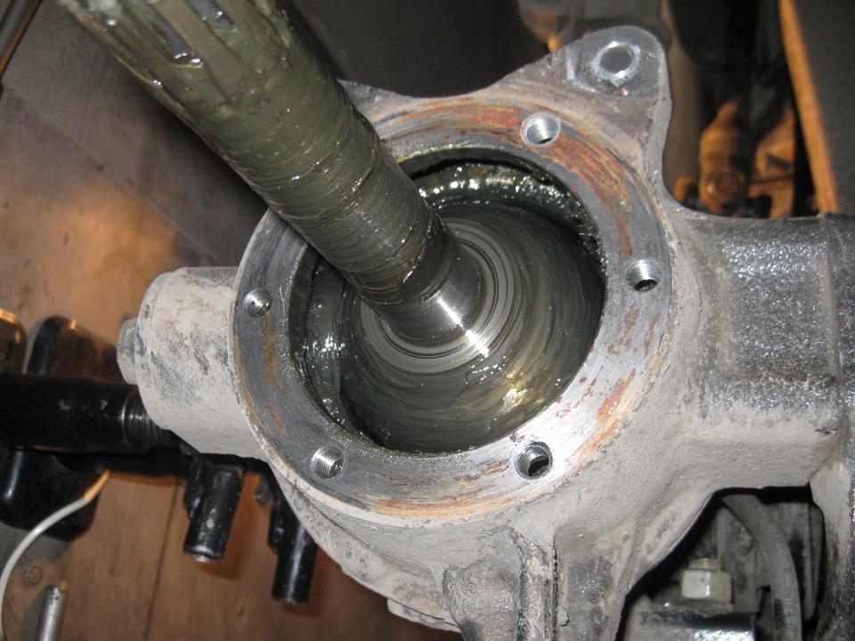 Механизм поворота колес