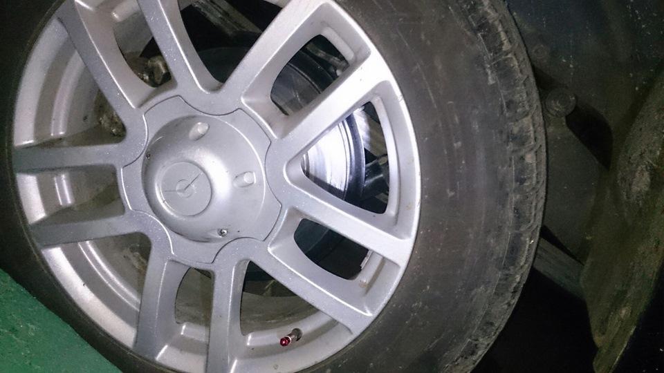 Колесо с дисковым тормозом