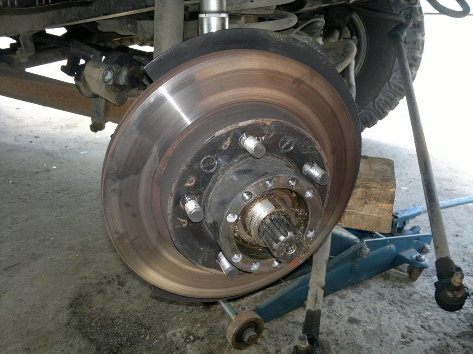 Ступица переднего колеса