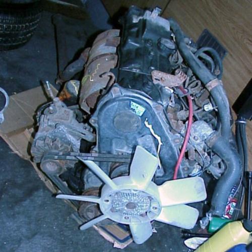 Двигатель от Тойоты на Патриот