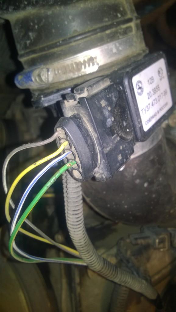 Провода датчика