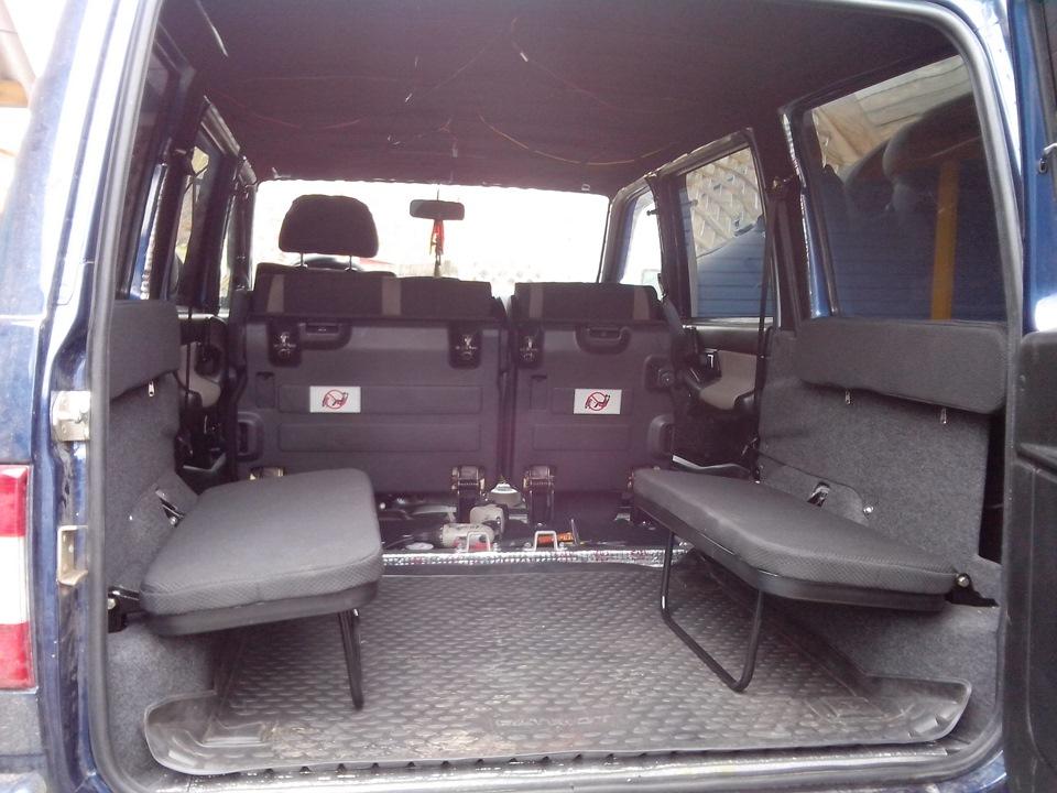 Комплект дополнительных сидений в багажник