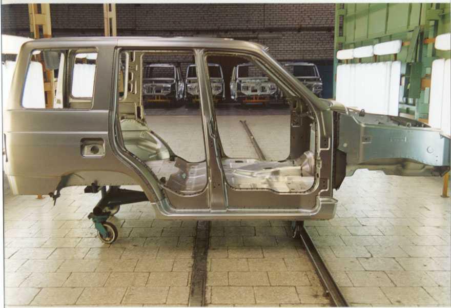 Основание кузова авто