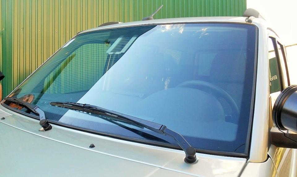 Внешний вид авто с новым стеклом