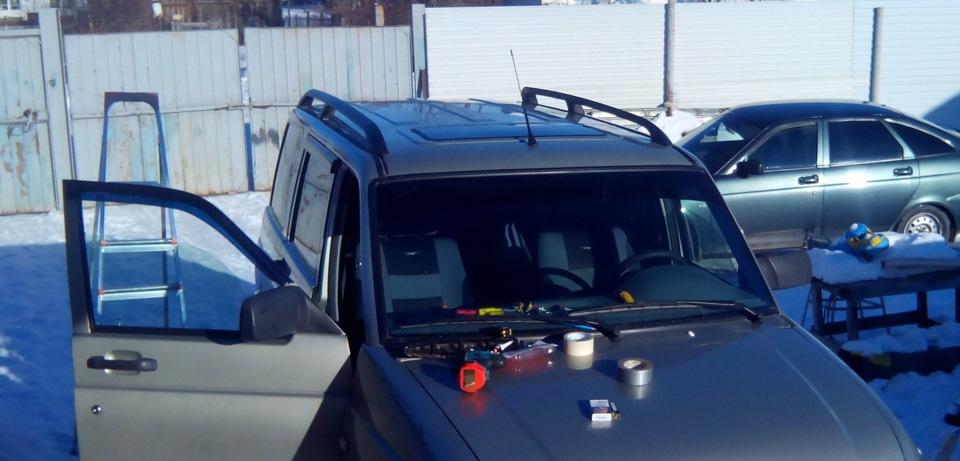 Авто с люком в крыше