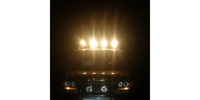 Авто подготовленный к ночным покатушкам