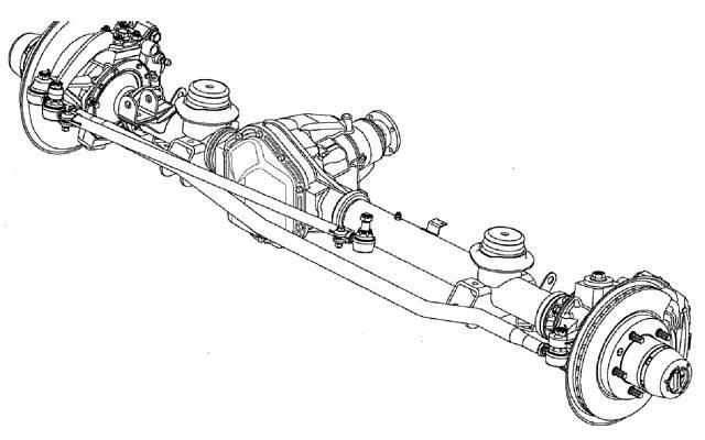Рисунок переднего механизма