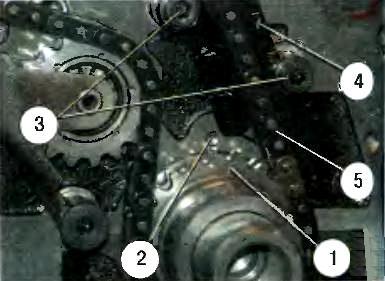 Процесс сборки механизма газораспределения