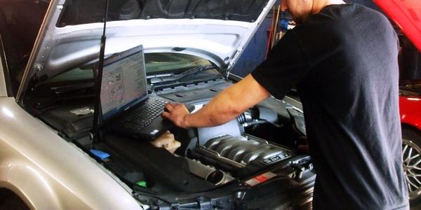 Процесс диагностирования авто