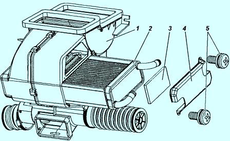 Схематичное изображение печки