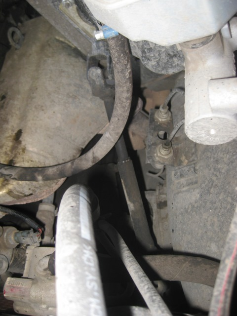 Вид на заводской карданчик