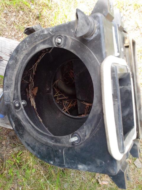 Корпус печки снятый с авто