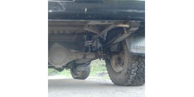 Задняя часть авто