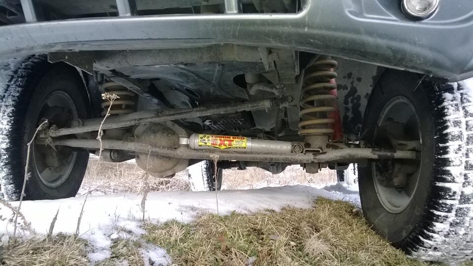 Расположение тяг на авто