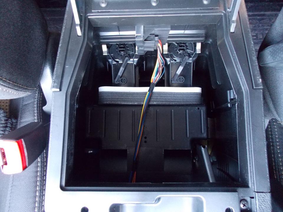 Снятие ящика на тоннеле пола