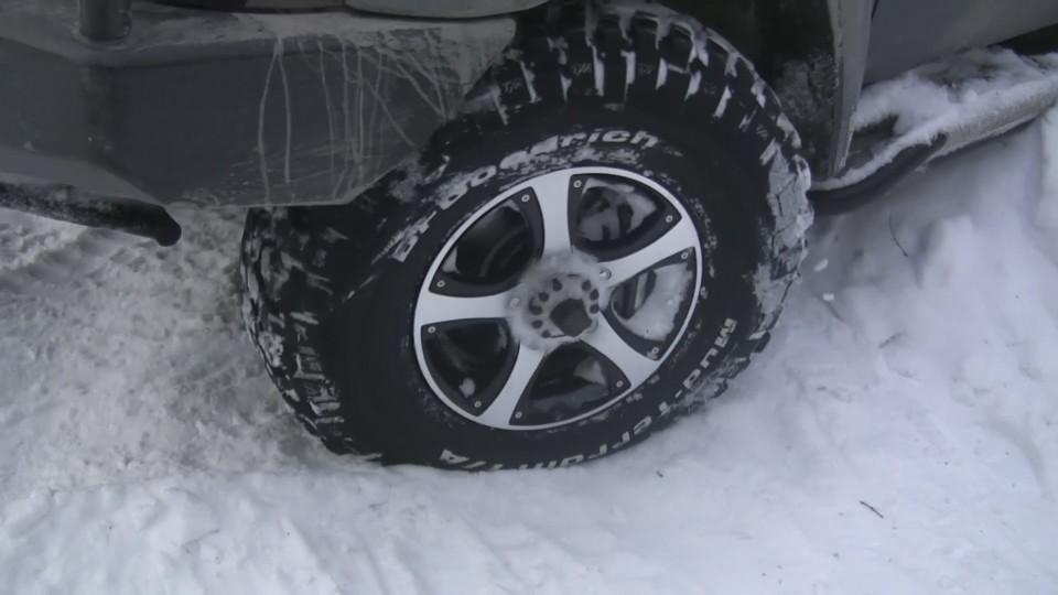 Спущенное колесо - неприятность в пути