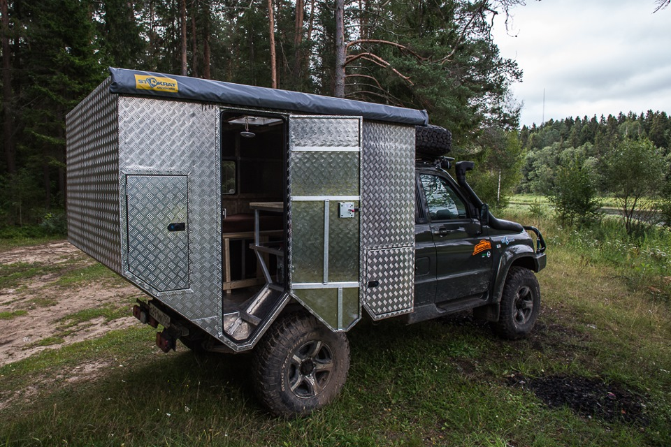 Один из вариантов дома на колесах