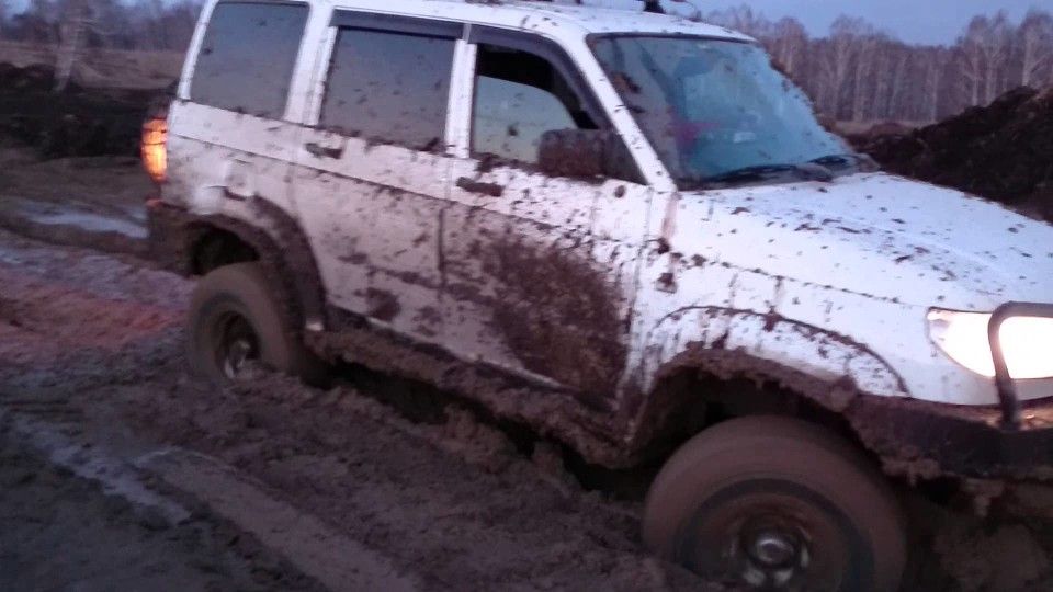 Авто в грязи