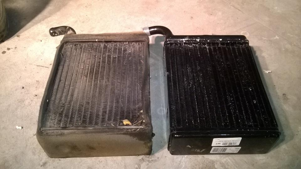 Радиатор отопления может быть причиной холодного салона