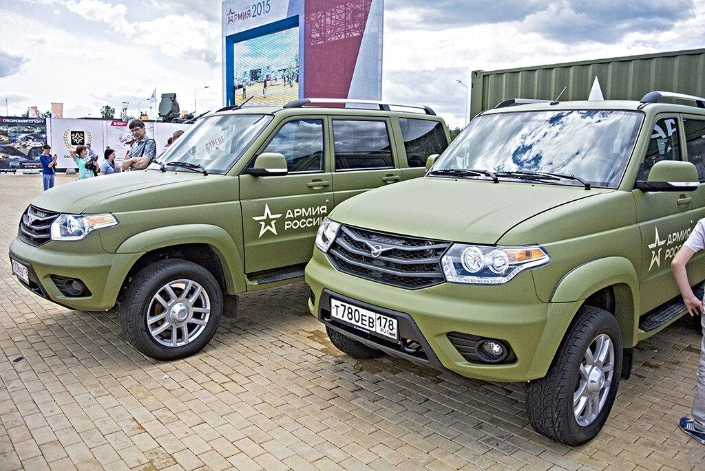 Авто для Российской армии