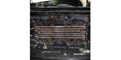 Расположение охладителя на авто