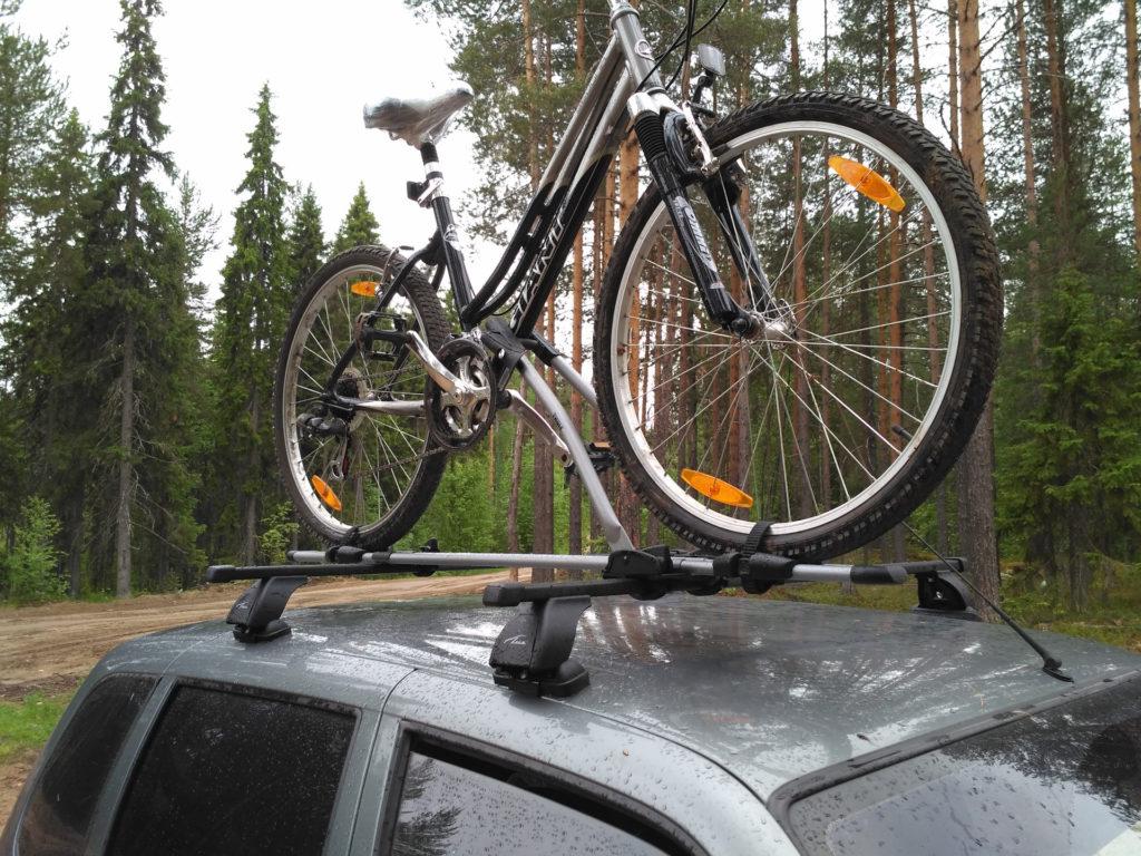 Крепление для велосипедов на крыше Шнивы